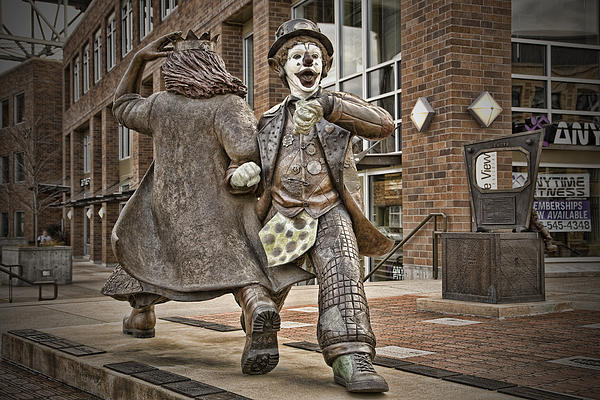 Clown Photograph - Late For Interurban  by Joanna Madloch