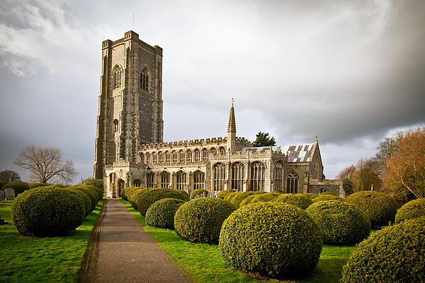 Architecture Photograph - Lavenham Church by Tom Gowanlock
