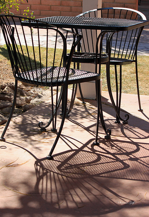 Table Photograph - Lazy Afternoon by Suzanne Gaff