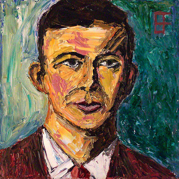 Agent Painting - Lee Harvey Oswald by Allen Forrest