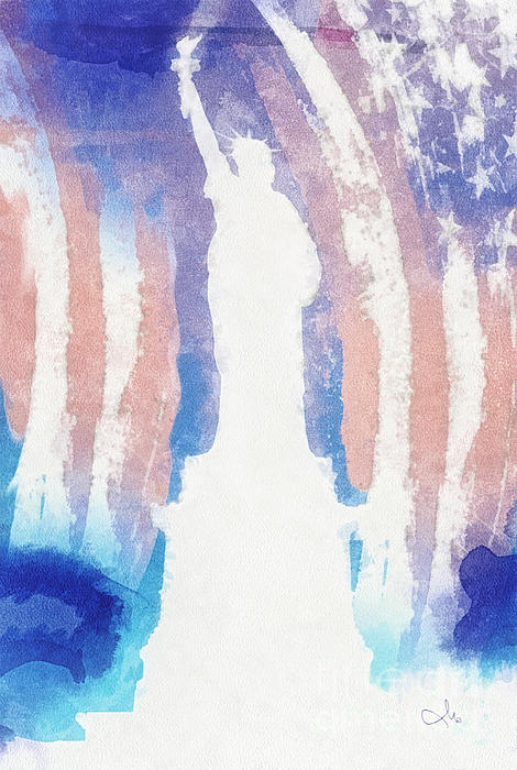 Liberty Painting - Liberty by Mo T