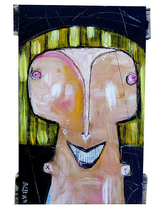 Mellon Painting - Life As Human Number Twenty Three by Mark M  Mellon