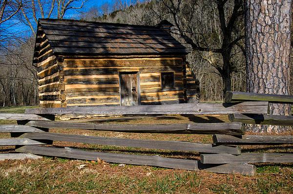 Lincoln Photograph - Lincolns Boyhood Home by Mark Bowmer