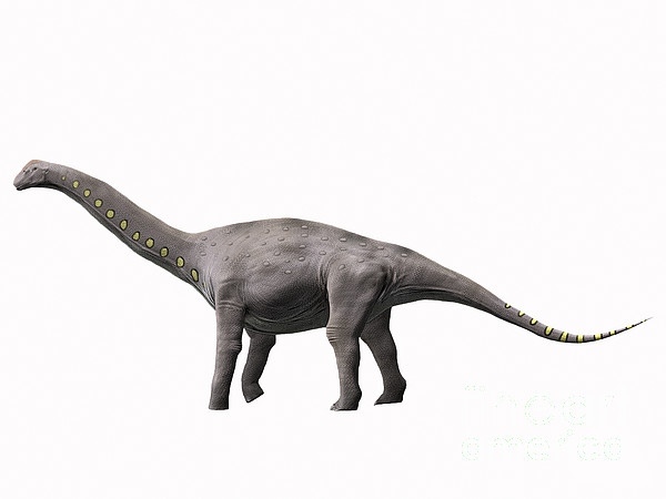 One Animal Digital Art - Lirainosaurus Astibae, Late Cretaceous by Nobumichi Tamura