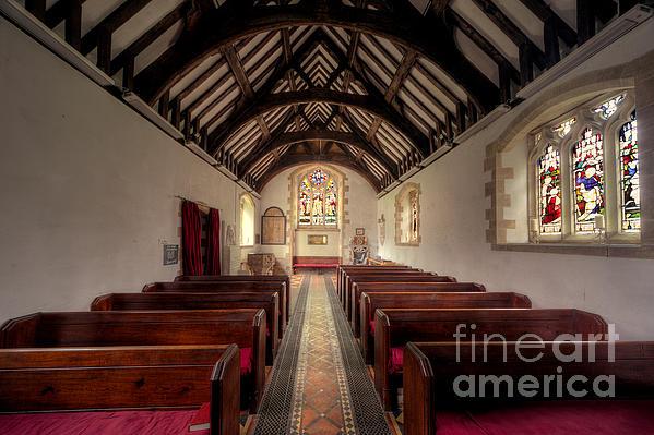Arch Photograph - Llandysilio Traean by Adrian Evans