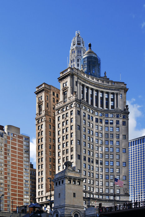 Chicago Photograph - London Guarantee And Accident Building Chicago by Christine Till
