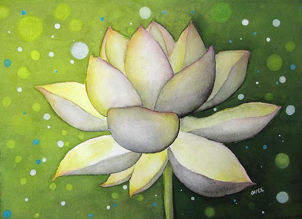 Lotus Painting - Lotus Dream by Oiyee At Oystudio