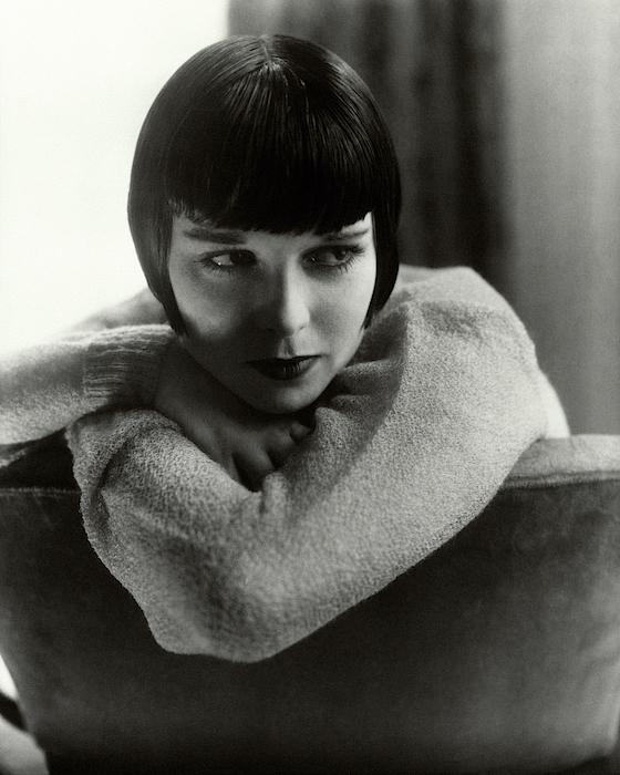 Louise Brooks On A Chair Photograph by Edward Steichen