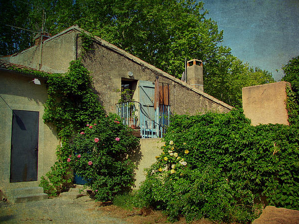France Photograph - Lourmarin Cottage by Carla Parris