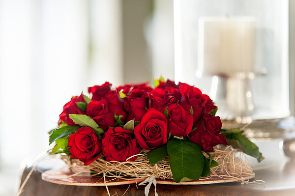 Red Roses Photograph - Love Message II by Jenny Rainbow