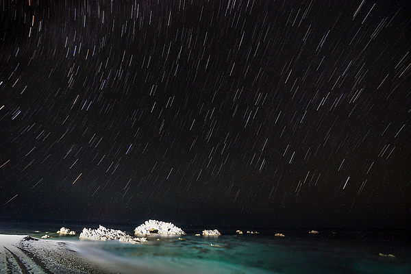 Low Angle View Of Star Field Against Sky At Night Photograph by Jesse Coleman / EyeEm