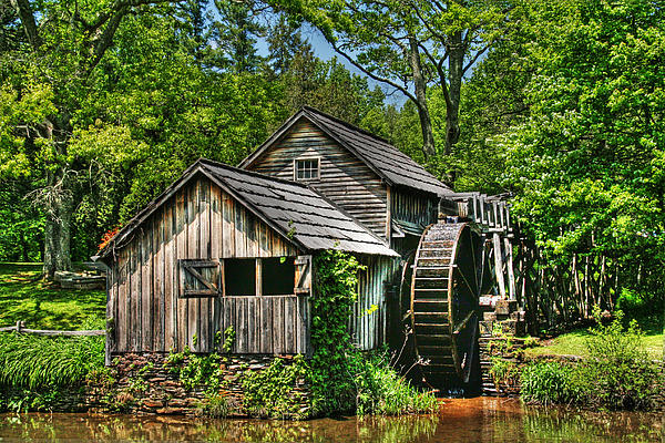 Mabry Mill Photograph - Mabry Mill by Heather Allen