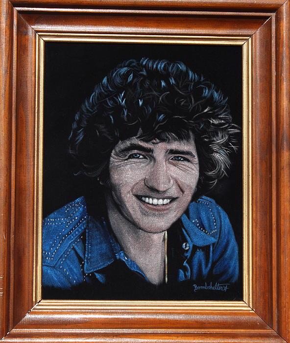 Mac Davis Painting - Mac Davis by Diane Bombshelter
