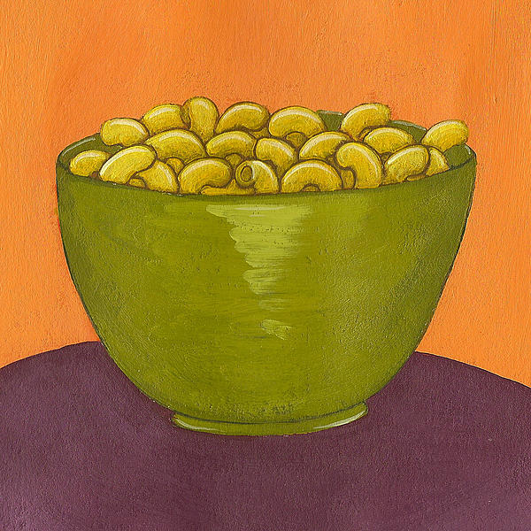 Yellow Painting - Macaroni And Cheese by Christy Beckwith