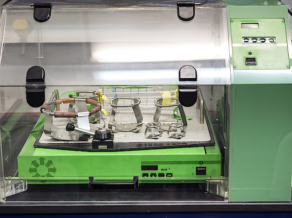 Machine For Removing Liquids, Heating, Incubation In A Laboratory Of Molecular Biology. Spain Photograph by Jose A. Bernat Bacete