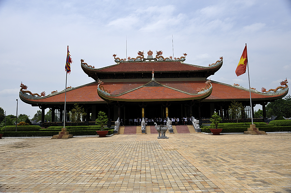 Main Temple Of The Ben Duoc Monument To War Martyrs. Cu Chi, Vietnam Photograph by Sheldon Levis