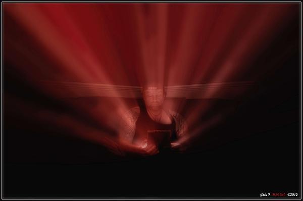 Red Photograph - Majic Box by Jason Green