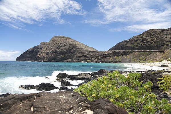 Beach Photograph - Makapuu Beach by Brandon Tabiolo