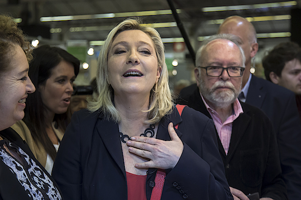 Marine Le Pen Attends The International Lepine Contest Photograph by Vincent Isore/IP3