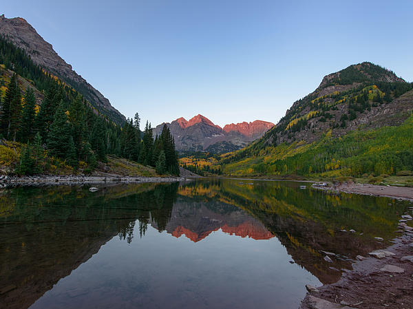 Aspen Photograph - Maroon Bells Sunrise by David Yack