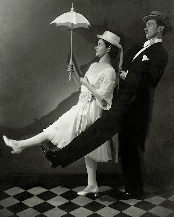 Mary Hay And Clifton Webb Dancing Photograph by Edward Steichen