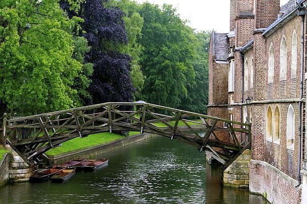 Mathematical Bridge Photograph - Mathematical Bridge by Donald Chen