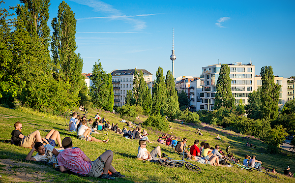 Mauerpark In Berlin, Germany Photograph by Nikada