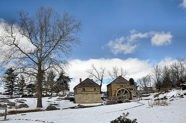 Mccormick Farm Photograph - Mccormick Farm In Winter by Todd Hostetter