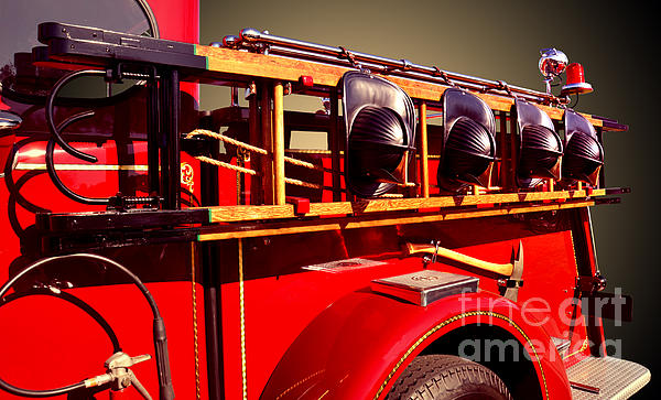 Fireman Photograph - Memorial To Our Fallen Heroes by Jim Carrell