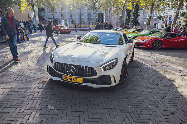 Mercedes-amg Gt R Sports Car Photograph by Sjo