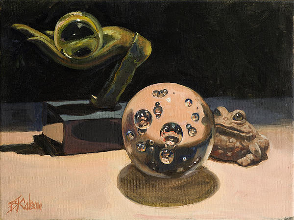Still Life Painting - Mesmerized by Billie Colson