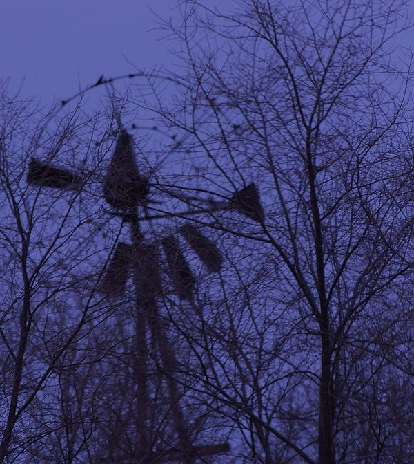 Midnight Windmill Photograph by Todd Sherlock