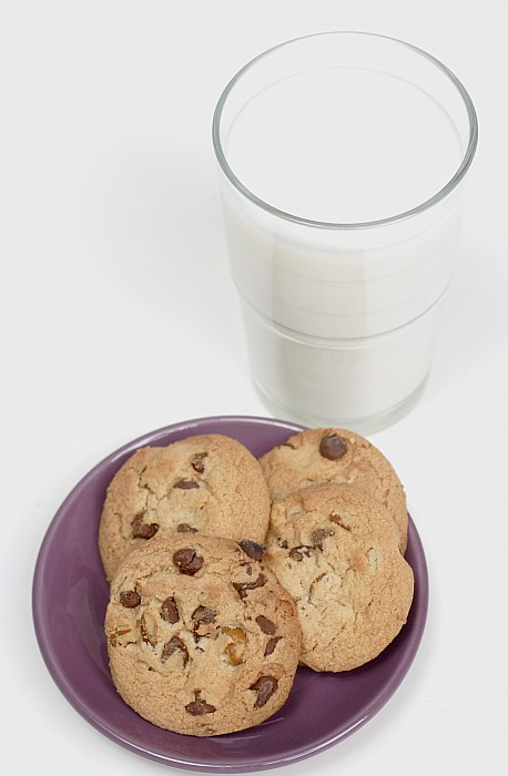 Appetite Photograph - Milk And Cookies by Greenwood GNP