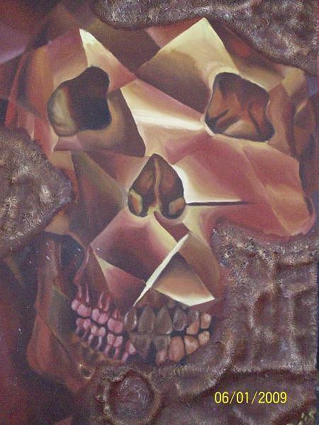 Conceptual Painting - Mind Control by Regie Alquizalas
