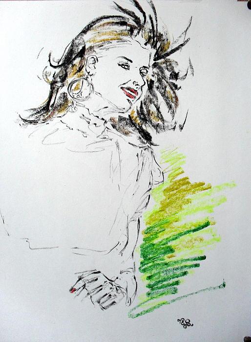 Human Pastel - Model 3025 B by Mohd Raza-ul Karim