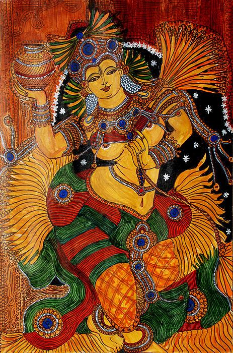 Mohini Painting - Mohini by Saranya Haridasan