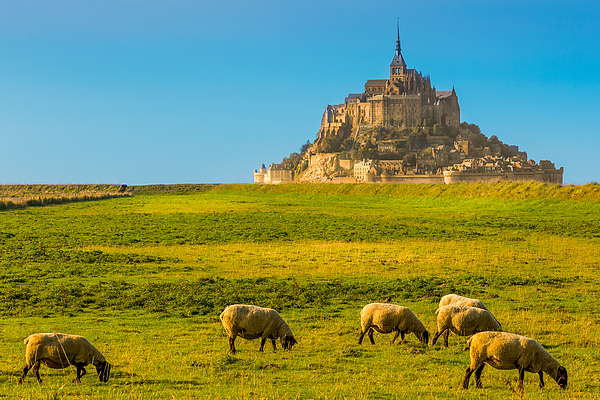 Mont St-michel Photograph by Jean Surprenant