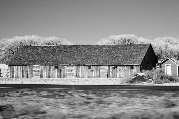 Montana Photograph - Montana Building by Paul Bartoszek