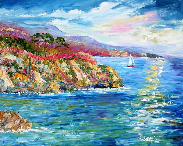 California Painting - Monterey California Spring by Karen Tarlton