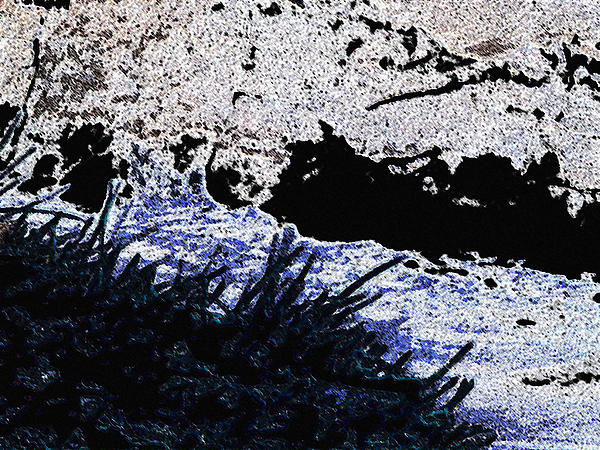 Abstract Photograph - Mood River by Lenore Senior