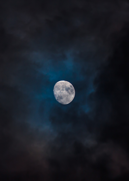 Moon Photograph by Scott Spakowski