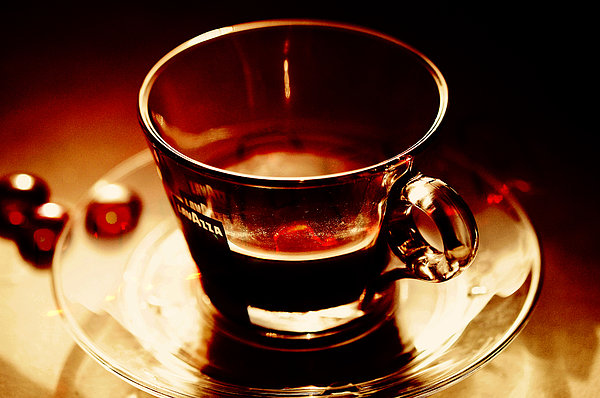 Coffee Photograph - Morning Bliss by Jenny Rainbow