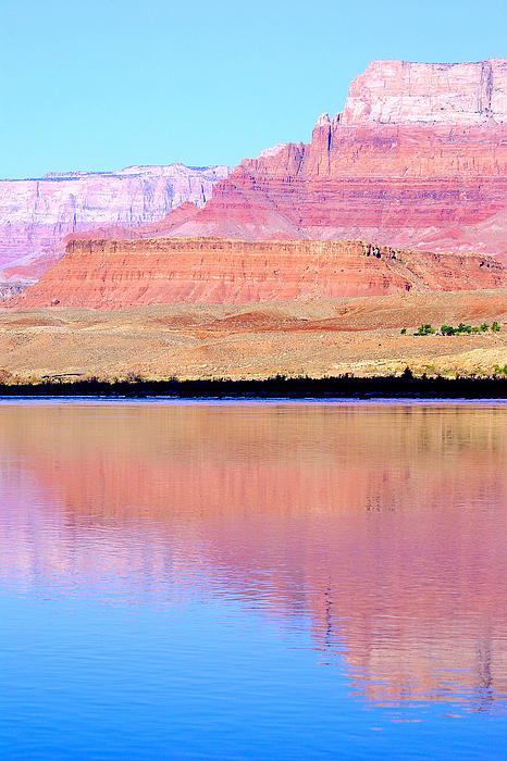 Vermillion Cliffs Photograph - Morning Light - Vermillion Cliffs And Colorado River by Douglas Taylor
