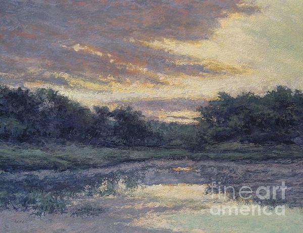 August Painting - Morning On The Marsh / Wellfleet by Gregory Arnett