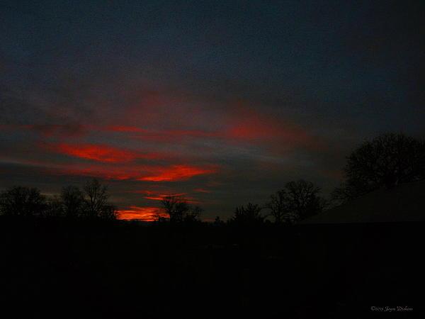 Sunrise Photograph - Mornings Early Light 012913 by Joyce Dickens