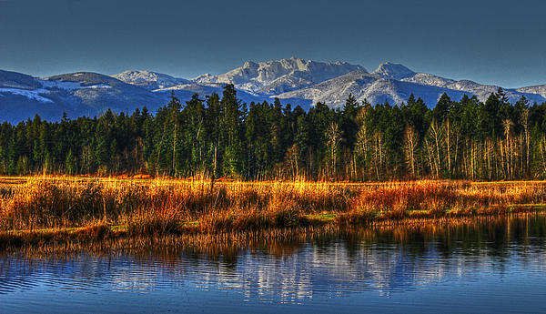 Landscape Photograph - Mountain Vista by Randy Hall