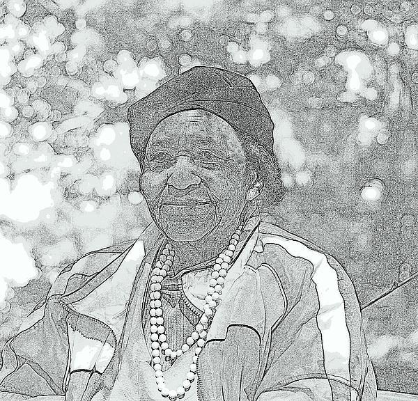 Ms. Ida  Photograph by Rosemarie E Seppala