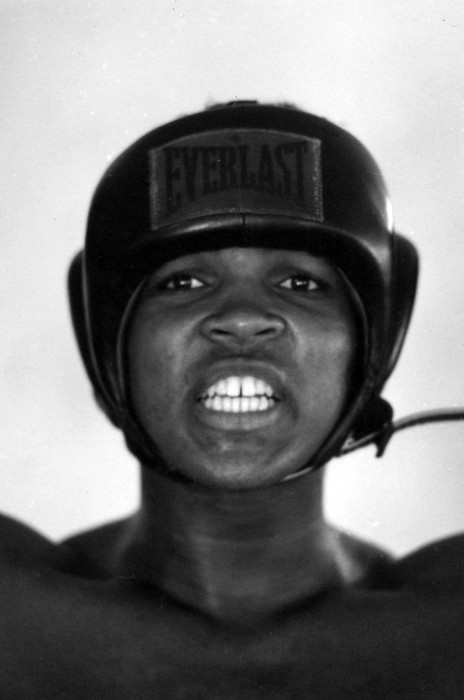 Marvin Newman Photograph - Muhammad Ali Teeth Gritted by Retro Images Archive