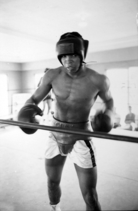 Marvin Newman Photograph - Muhammad Ali Training Inside Ring by Retro Images Archive