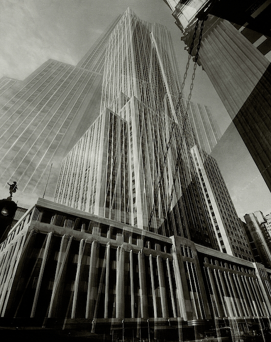 Multiple Exposure Of The Empire State Building Photograph by Edward Steichen